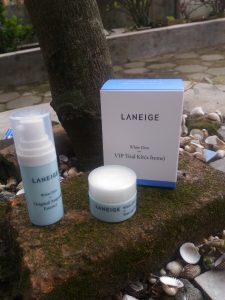 Review Leneige White Dew VIP Trial Kit 2 Items