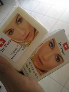 Review Sabun Dr Pure Beauty Whitening Soap Rice Milk